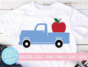 Apple Truck SVG Cut File