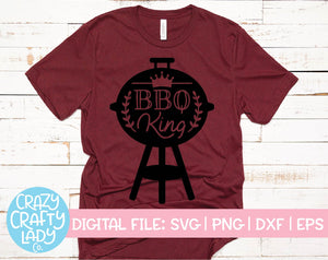 BBQ King SVG Cut File
