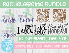 Load image into Gallery viewer, Bachelorette SVG Cut File Bundle