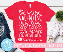 Load image into Gallery viewer, Valentine's Day Quotes Bundle SVG Cut File