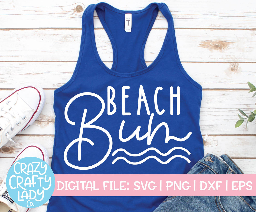 Beach Bum SVG Cut File