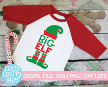 Load image into Gallery viewer, Elf Sibling SVG Cut File Bundle