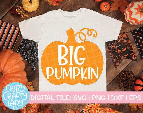 Big Pumpkin SVG Cut File