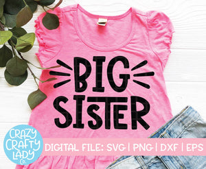 Big Sister SVG Cut File