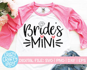 Bride's Mini SVG Cut File