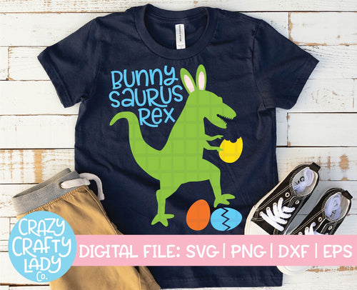 Bunnysaurus Rex SVG Cut File