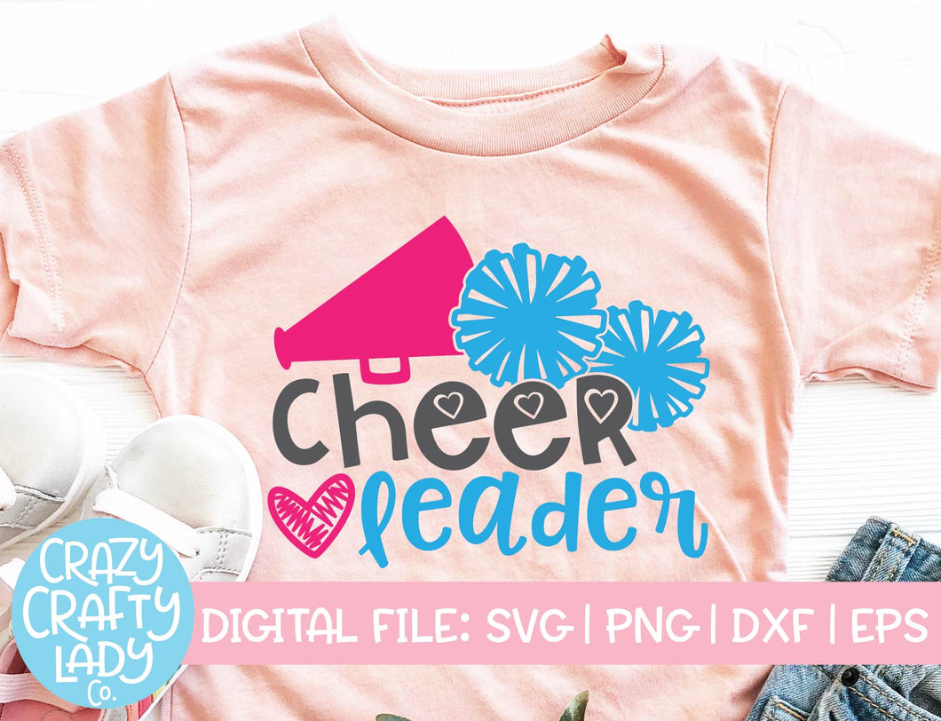 Cheerleader SVG Cut File