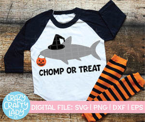 Chomp or Treat SVG Cut File