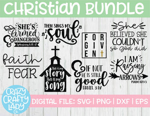 Christian SVG Cut File Bundle
