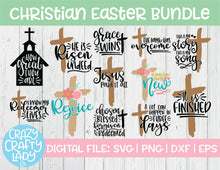 Load image into Gallery viewer, Christian Easter SVG Cut File Bundle