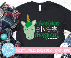 Christmas Is Magical SVG Cut File
