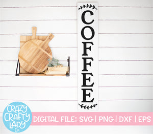 Coffee SVG Cut File