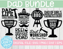 Load image into Gallery viewer, Dad SVG Cut File Bundle