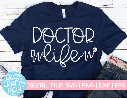 Doctor Life SVG Cut File