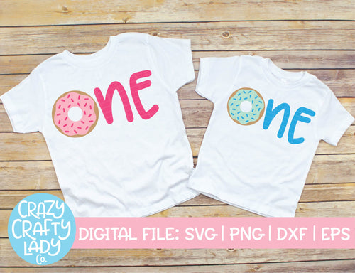 Donut One SVG Cut File