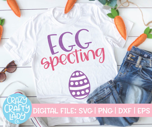 Egg Specting SVG Cut File