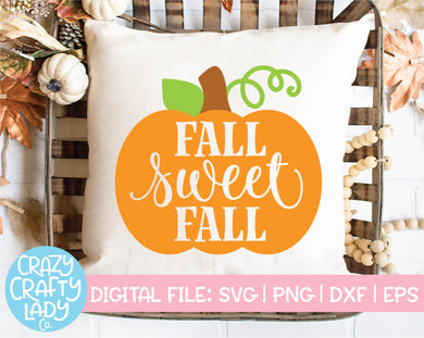 Fall Sweet Fall SVG Cut File