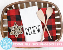 Load image into Gallery viewer, Farmhouse Christmas Word SVG Cut File Bundle