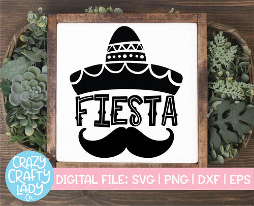 Fiesta SVG Cut File