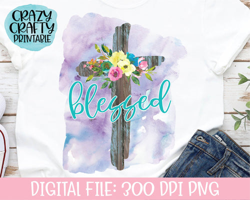Blessed PNG Printable File