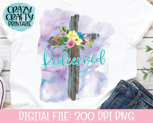Redeemed PNG Printable File