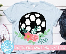 Load image into Gallery viewer, Soccer SVG Cut File Bundle