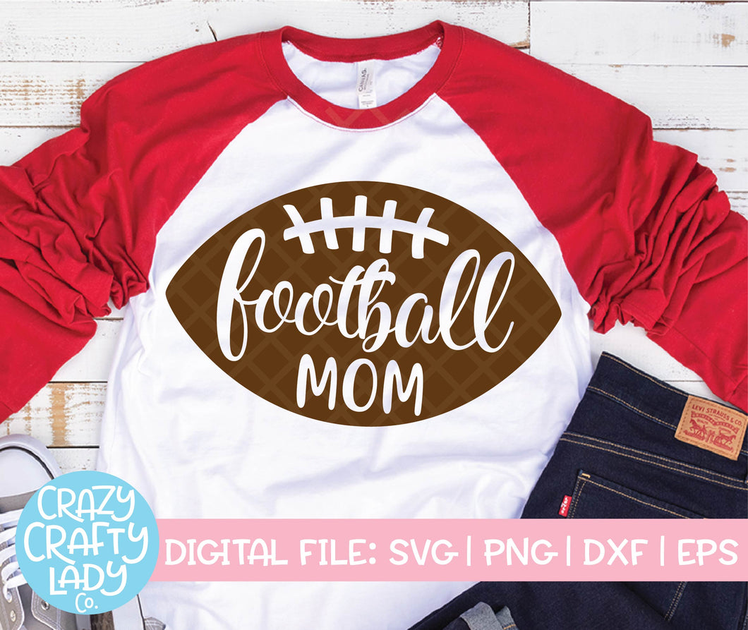 Football Mom SVG Cut File