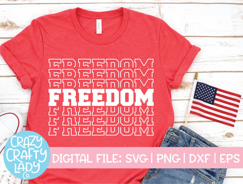 Freedom SVG Cut File