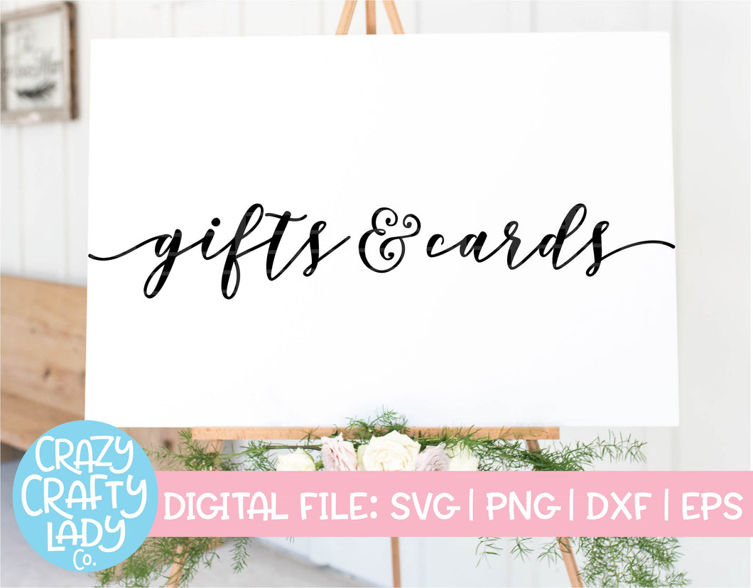 Gifts & Cards SVG Cut File