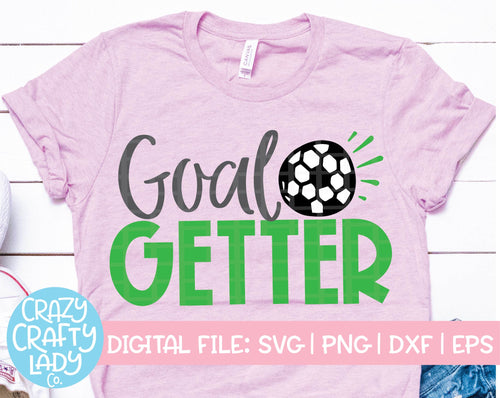 Goal Getter SVG Cut File