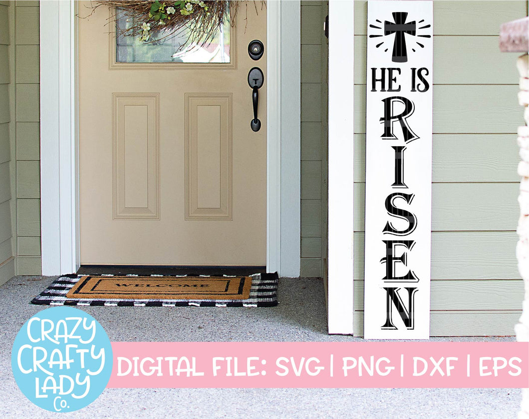 He Is Risen SVG Cut File