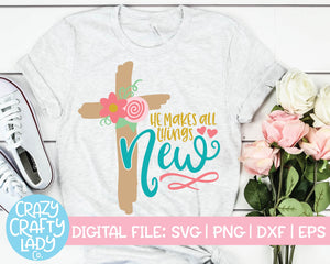 Christian Easter SVG Cut File Bundle