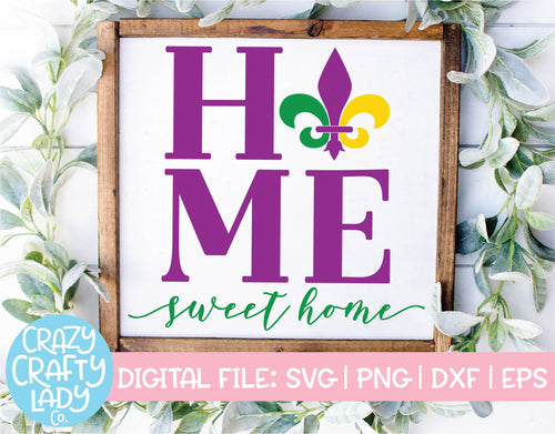 Home Sweet Home SVG Cut File