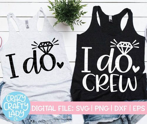 I Do Bachelorette SVG Cut File Bundle