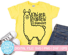 Load image into Gallery viewer, Llama School SVG Cut File Bundle