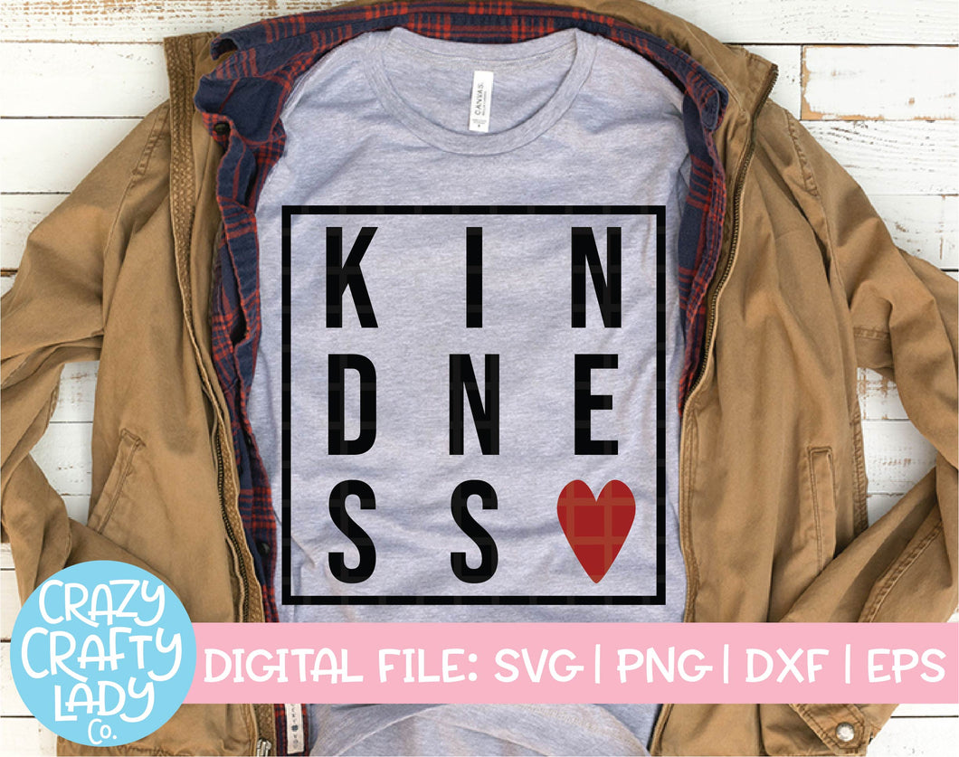 Kindness SVG Cut File
