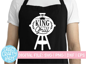King of the Grill SVG Cut File