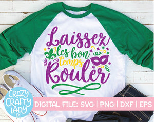 Mardi Gras SVG Cut File Bundle