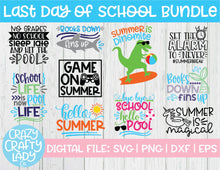 Load image into Gallery viewer, Last Day of School SVG Cut File Bundle