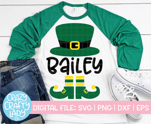 Leprechaun Hat & Shoes SVG Cut File