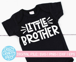 Big & Little Brother SVG Cut File Bundle