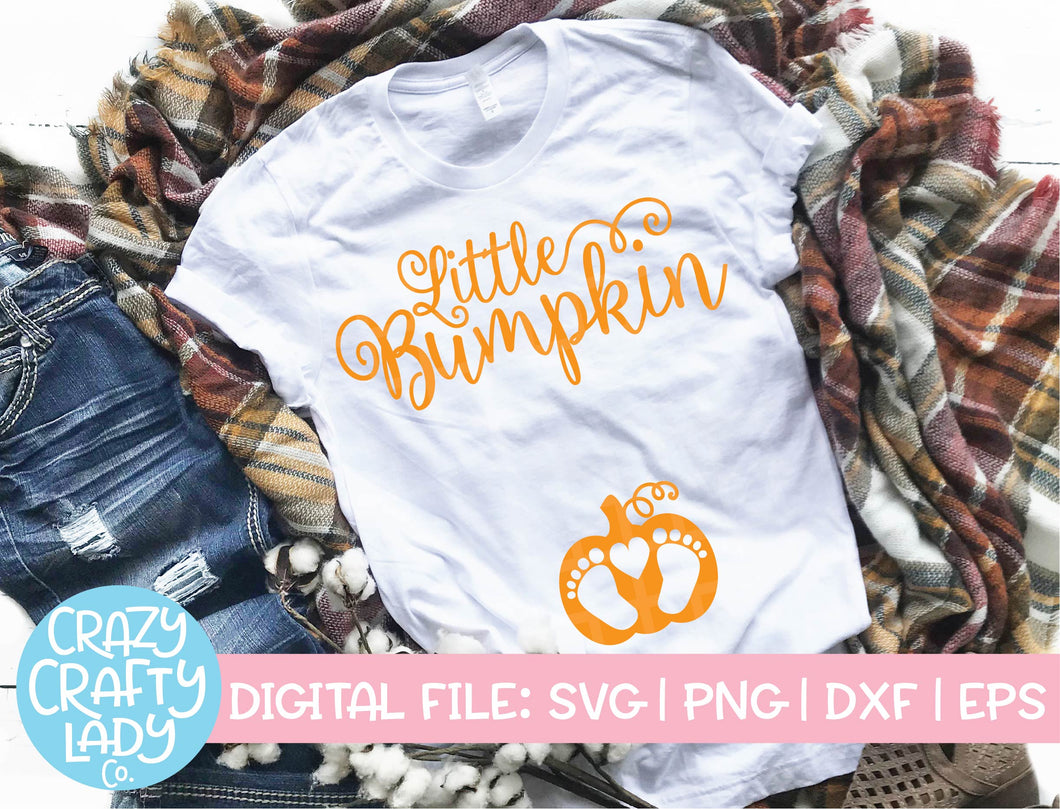 Little Bumpkin SVG Cut File