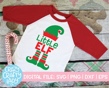 Load image into Gallery viewer, Big & Little Elf SVG Cut File Bundle