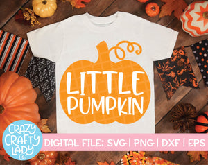 Little Pumpkin SVG Cut File