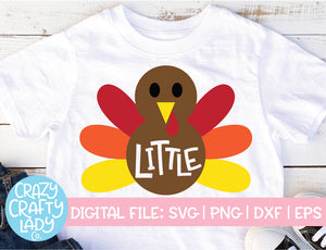 Little Turkey SVG Cut File