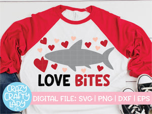 Love Bites SVG Cut File