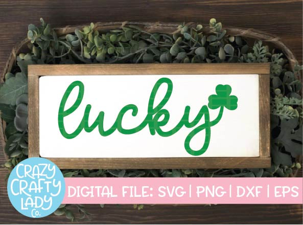 Lucky SVG Cut File