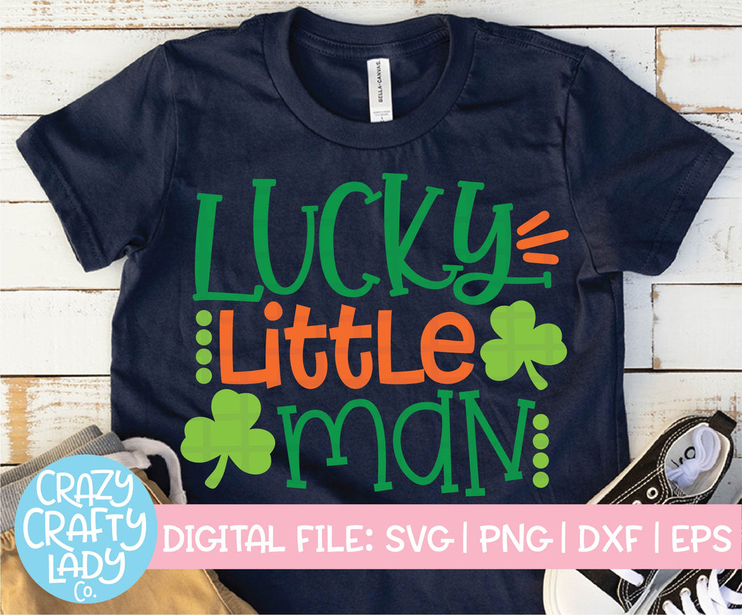 Lucky Little Man SVG Cut File