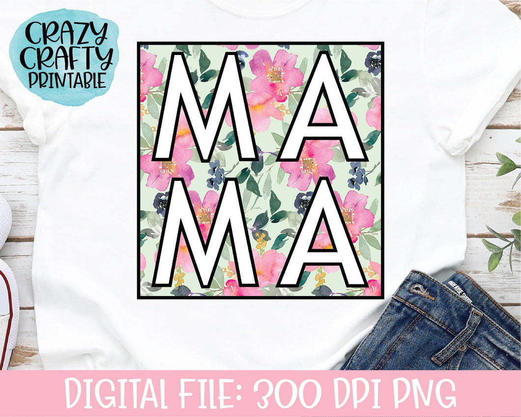 Mama PNG Printable File