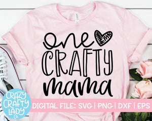One Crafty Mama SVG Cut File